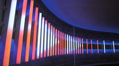 Nulty - Norton Rose Headquarters, London - Dynamic Light Art Installation Tunnel