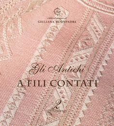 Selling The Antique: Counted thread work From Filofilò - Price: € - Casa Cenina Drawn Thread, Thread Work, Embroidery Supplies, Satin Stitch, Le Point, Woven Fabric, Embroidery Stitches, Counting, Knots