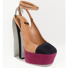 Yves Saint Laurent Colorblock Sling Pump