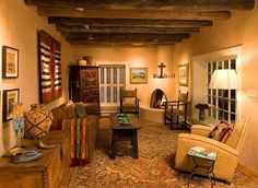 View our photo gallery of rustic interior design images. We provide some of the best rustic interior design services available, our small firm caters to a diverse range of clients. Southwest Home Decor, Southwestern Home, Southwest Style, Style At Home, Old West Decor, Adobe Haus, Colonial, Native American Decor, Home Decor Catalogs