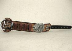 381 Boho BDSM Steampunk Burning Man Bracelet Recycled Jewelry