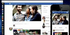 It's a lot cleaner than the current design —everything else has been pushed to a sidebar: | Say Hello To The NewFacebook