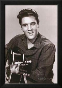 Elvis Presley (Love Me Tender) Music Poster Print Prints - AllPosters.co.uk