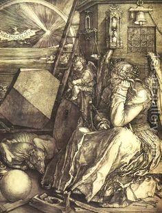 Albrecht Durer:Melancholy I