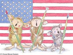 """""Have a """"Mice"""" Memorial Day!""                             "" from House-Mouse Designs"