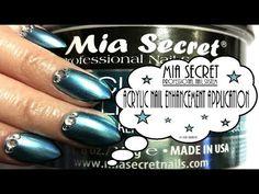 Mia Secret ® Professional Nail System: Acrylic Nail Enhancement Application