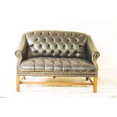 Everett Leather Settee
