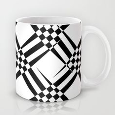 Buy Pattern black and white 4 Mug by Christine baessler. Worldwide shipping available at Society6.com. Just one of millions of high quality products available.