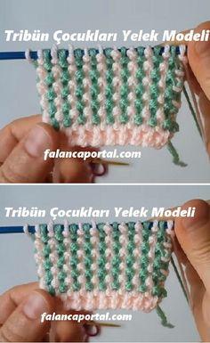 Baby Knitting Patterns, Lace Knitting, Knitting Stitches, Crochet Patterns, Knitting Videos, Knitting For Beginners, Crochet Hooded Scarf, Knit Crochet, Crochet Embellishments