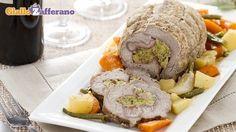Ricetta Arrotolato di vitello con verdure - Le Ricette di GialloZafferano.it