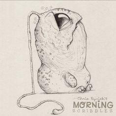 Never stop dreaming... #morningscribbles  Страшненькие, но милахи такие!