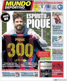 Portada Mundo Deportivo 13/04/2015