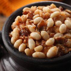 Alberta beans  bacon