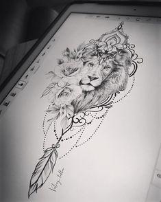 Tattoos for men Tattoos Verse, Leo Tattoos, Cute Tattoos, Beautiful Tattoos, Body Art Tattoos, Forearm Tattoos, Lion Tattoo On Thigh, Lion Head Tattoos, Gangsta Tattoos