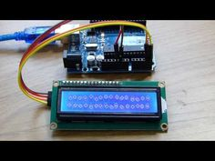 How to Connect an I2C Lcd Display to an Arduino Uno Tutorial - YouTube