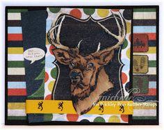 Prickley Pear Rubber Stamps:  KK0024 Buck