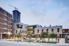 Goldring student center by Moriyama and Teshima, University of Toronto. University Of Toronto, Latest Images, Multi Story Building, Student