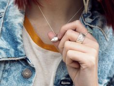 wonderful you jana reinhardt - Google Search Jumpers, Urban Outfitters, Arrow Necklace, Gems, Jewels, Denim, Google Search, Casual, How To Wear