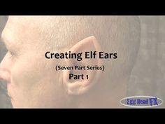 """Ear Casting is the first video of our even part series """"Creating Elf Ears"""" on how to make custom silicone Elf Ears. This video covers the process on how to c. Cosplay Tutorial, Cosplay Diy, Diy Tutorial, How To Make Silicone, How To Draw Ears, Ear Parts, Elf Ears, Easy Youtube, I Cool"""