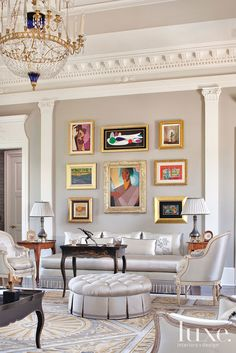 Regal Bearing: Designer Couple Takes Home To Palatial Level @Aaron De Simone Interiors + Design Magazine