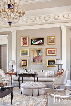 Regal Bearing: Designer Couple Takes Home To Palatial Level @Aaron De Simone Interiors + Design Magazine