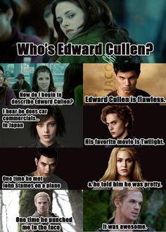 Twilight meets mean girls lol