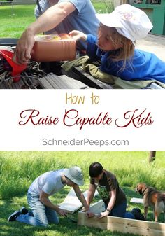 How to raise capable