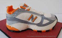 Sugar Sweet Cakes and Treats: Running Sneaker Shoe Cake Tutorial
