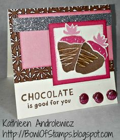 Life's like a Bowl of Stamps: August SOTM Blog Hop - A Chocolate Affair