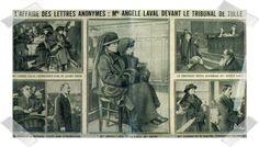 """La historia de """"El cuervo"""" se inspira en la historia real deAngèle Laval. Entre 1917 y 1922, una epidemia de 110 cartas anónimas se abatió ..."""