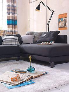 Hochflor-Teppich, Tom Tailor, »Soft-Z«, Höhe 30mm, handgetuftet im Universal Online Shop