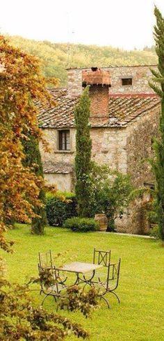 Tuscany, Italy .. Chianti region