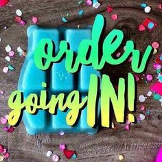 Placing orders all the time www.nicolechapman.scentsy.us