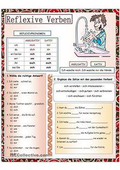 Gr. Erklärung + 2 Aufgaben - DaF Arbeitsblätter
