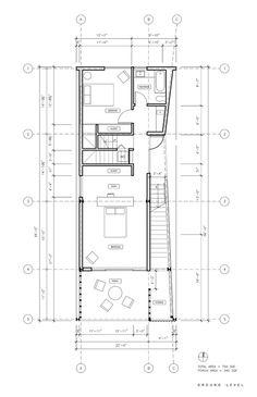 Shotgun Chameleon,Ground Floor Plan