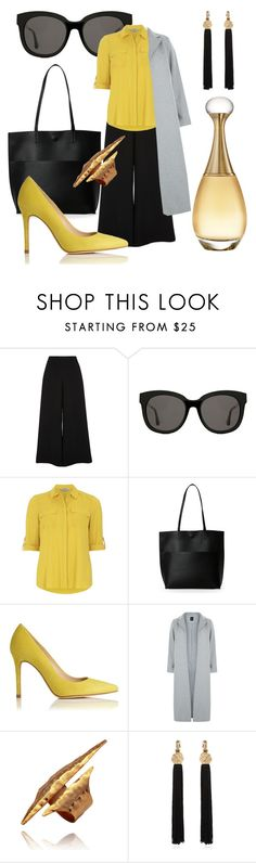"""Be(e) Qeen"" by sabiheja on Polyvore featuring River Island, Gentle Monster, Dorothy Perkins, Street Level, L.K.Bennett, New Look, Yves Saint Laurent and Christian Dior"