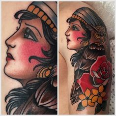 therealjonftw: An owl an a gypsy girl for Blake.