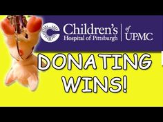 In this Journey to the Claw Machine - Trapped Butterfly, I go out and play the Big Choice claw machine and everything that I win, I will be donating to Child. Claw Machine, Childrens Hospital, I Win, Claws, Pittsburgh, Children's Clinic