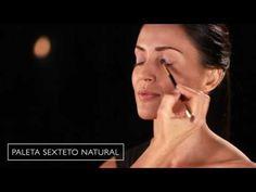 Natura cosméticos - Portal de maquillaje - Natura UNA - Look Esfumado Vison
