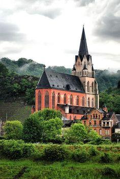 Sankt Goar -  the Rhine, Germany