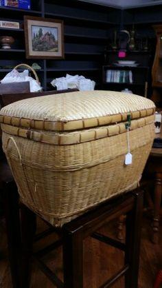 Wicker basket $21.50