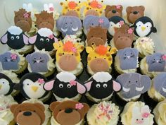 Cupcakes Take The Cake: Fun with farm and other animal cupcake toppers