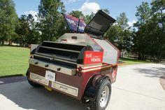 VT Tailgate BBQ Trailer