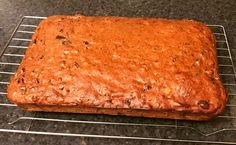 Here it is again ta da!! The best diet food ever invented! #hairydieters Low Fat Fruit Tea Loaf! Today's (made with dates rather than prunes) cuts into 20 pieces of 173 cals each. Guaranteed to satisfy any hunger pangs! From Book 2 (the yellow one). #homemade #healthyeating #lowfat #lowcal #lowcalorie #diet #healthylifestyle #losingweight  #weightloss #weightlossjourney #dieting #instafood #healthy #health #healthyfood #healthychoices #healthyliving #transformation #lifestylechange #food…
