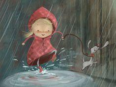 Susan Batori Illustrates the Cuteness of Life