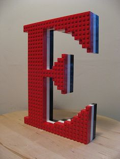 Today is given you the letter E Lego letters! So cool and I have so much fun building! Today is given you the letter E Lego letters! So cool and I have so much fun building! Lego Letters, Letters And Numbers, Legos, Deco Lego, Boy Room, Kids Room, Lego Bedroom, Bedroom Kids, Bedroom Furniture