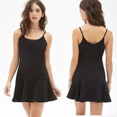 casual spagetti strap a line dress - - Yahoo Image Search Results