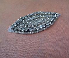 Edwardian Style Antique Style Applique Glass by FabricBistro