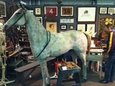 paper mache horse V