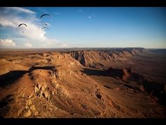 Paragliding pilots Nate Scales, Nick Greece, Matt Beechinor and Gavin McClurg attempt a bivvy line from Hurricane Ridge, Utah to Jackson Hole, Wyoming. Filmed by...